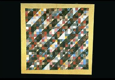 Nine-Patch Straight Furrow