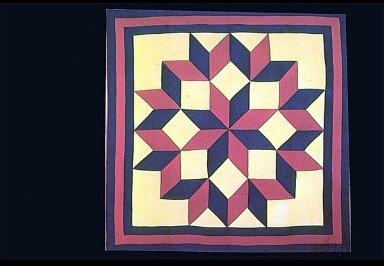 Broken Wheel-carpenter's Wheel of Dutch Rose Quilt Block