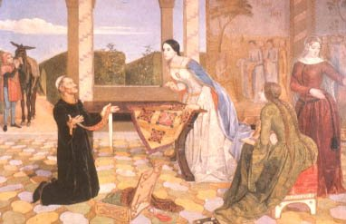 Berengaria Recognizing the Girdle of Richard I Offered For Sale in Rome