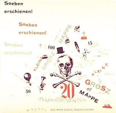 Design for Advertisement in Die Neue Jugend