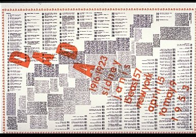 Catalog Poster for Dada