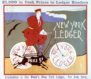 Bicycle Number, New York Ledger