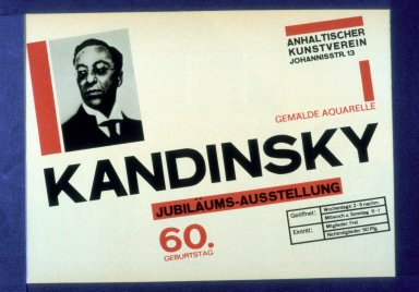 Kandinsky Exhibition Poster