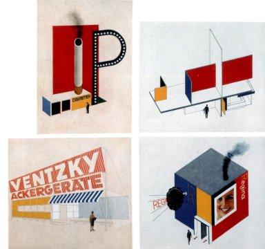 Advertising Designs for Buildings