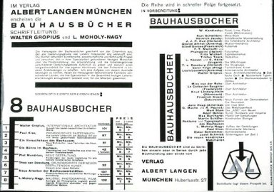 Bauhausb¿cher