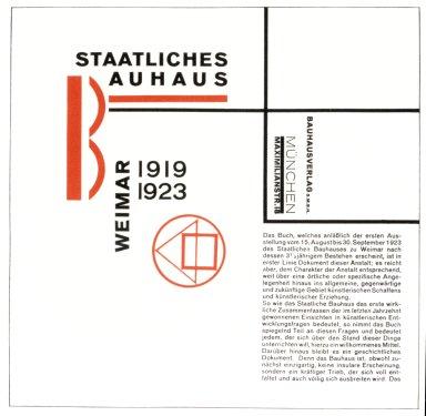 Bauhaus Prospectus