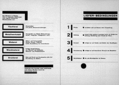 Bauhaus Product Catalog
