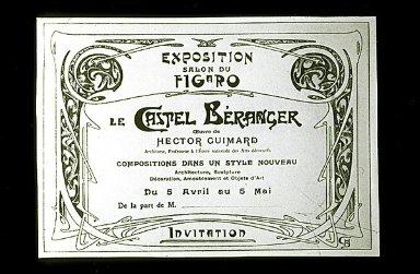 Exposition Salon du Figaro le Castel Beranger