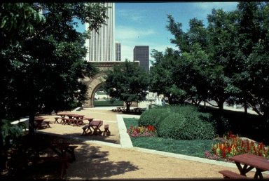 Park at the Art Institute of Chicago