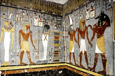 Ramesses I Surrounded by Gods
