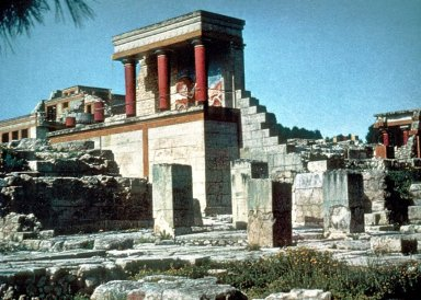 Palace of King Minos: Propylaeum (North)