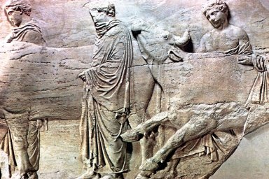 Parthenon: Sculpture - Frieze (North)