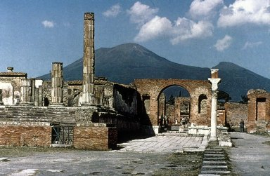 Forum at Pompeii