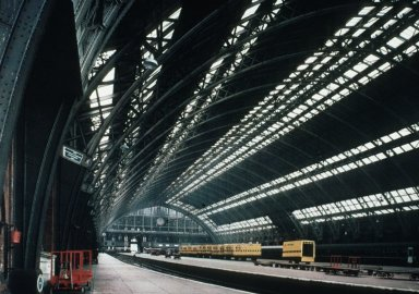 Saint Pancras Station: Trainshed