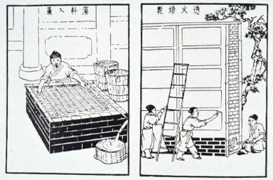 Early Chinese Paper Printing Processes