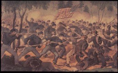 Battle of Spottsylvania, Virginia May 12, 1864