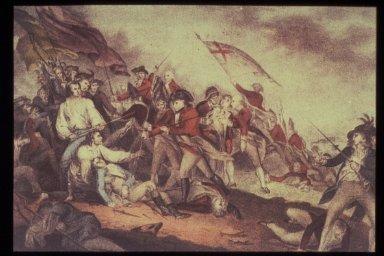 Battle of Bunker Hill, June 17, 1775