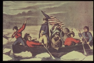 Washington Crossing the Delaware, December 25, 1776