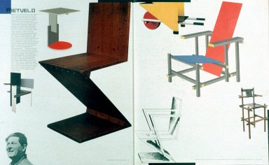 Illustration of Various Chairs