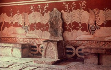 Palace of King Minos: Throne Room