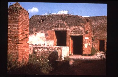 Forum at Pompeii: Baths