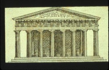 Parthenon: West Facade