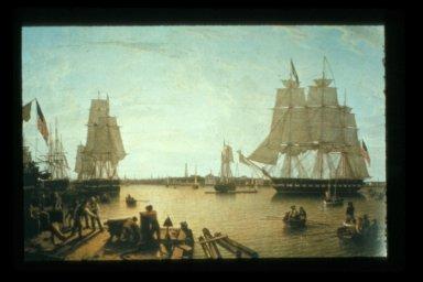 Boston Harbor from Constitution Wharf