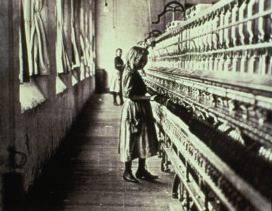 Child in Carolina Cotton Mill