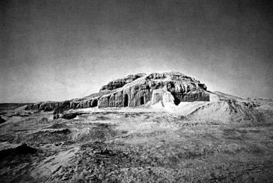 White Temple on Its Ziggurat