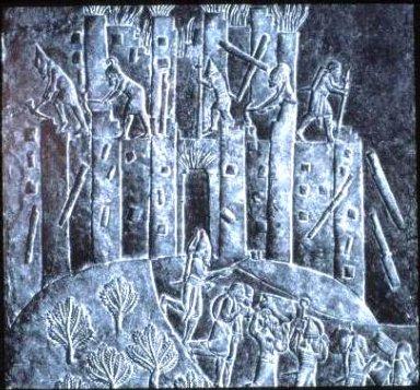 Palace of Ashurbanipal: Sack of City of Hamanu by Ashurbanipal