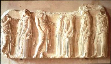 Parthenon: Sculpture - Frieze (East)