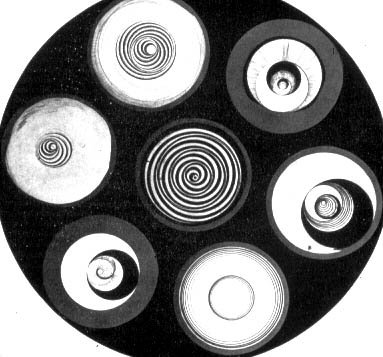 Discs Bearing Spirals