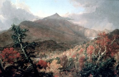 View of Schroon Mountain, Essex County, New York, After a Storm