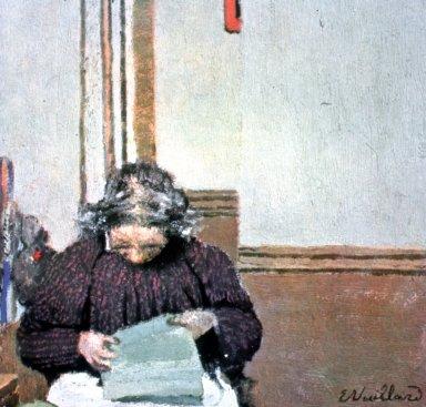 Madame Vuillard Cousant
