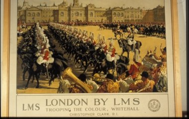 Trooping the Colour, Whitehall