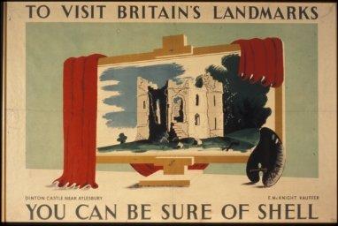 To Visit Britain's Landmarks, Dinton Castle
