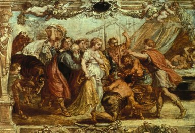 Briseis Restored to Achilles