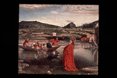 Miraculous Draught of Fishes (Christ Walking on Water)