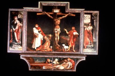 Isenheim Altarpiece: Predella