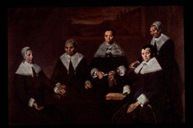 Women Regents of the Old Men's Home at Haarlem