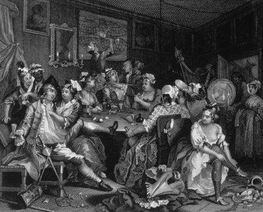 Rake's Progress: III: Tavern Scene