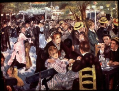 Dancing at the Moulin de la Galette, Montmartre