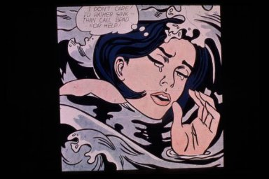 """Drowning Girl (""""I Don't Care !..."""")"""
