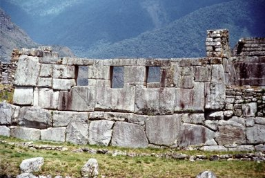 Machu Picchu: Temple of Three Windows