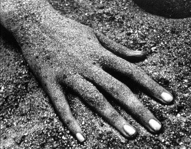 Hand, Jones Beach, NY.