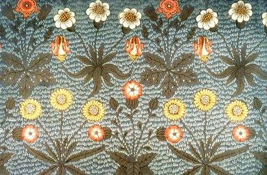 Daisy Wallpaper Series: Blue/Grey