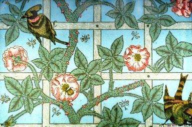 Trellis Wallpaper Series: Light Blue