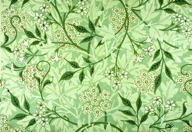Jasmine Wallpaper Series: Light Green