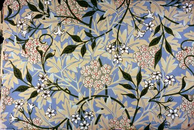 Jasmine Wallpaper Series: Light Blue