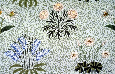 Lily Wallpaper Series: Light Green